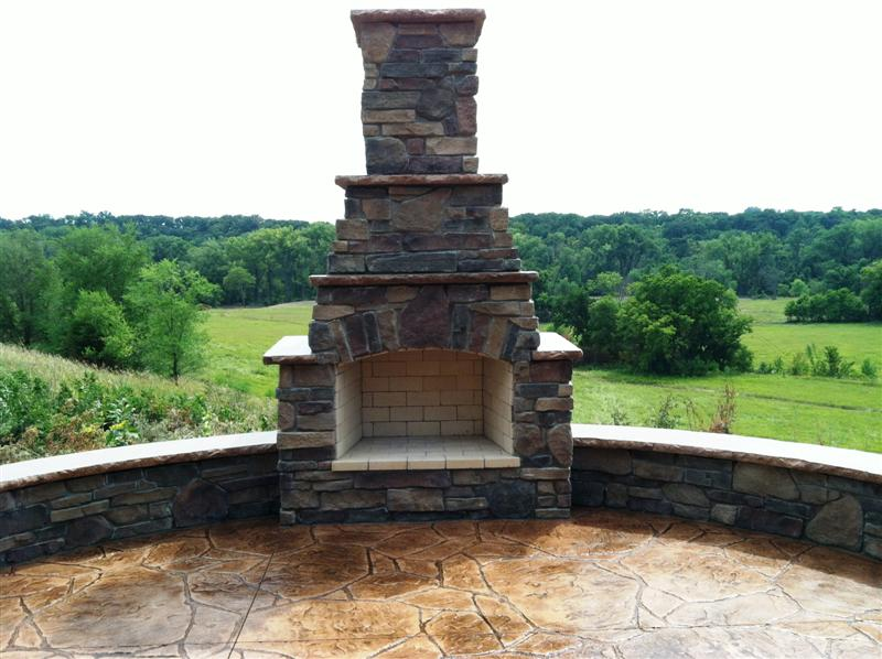 Countryside Concrete Inc Redwood Falls Fire Place