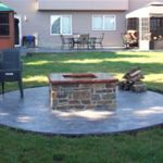 Elevated Patio Fire Pit