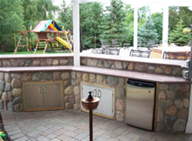 Countryside Concrete Inc Outdoor Kitchens